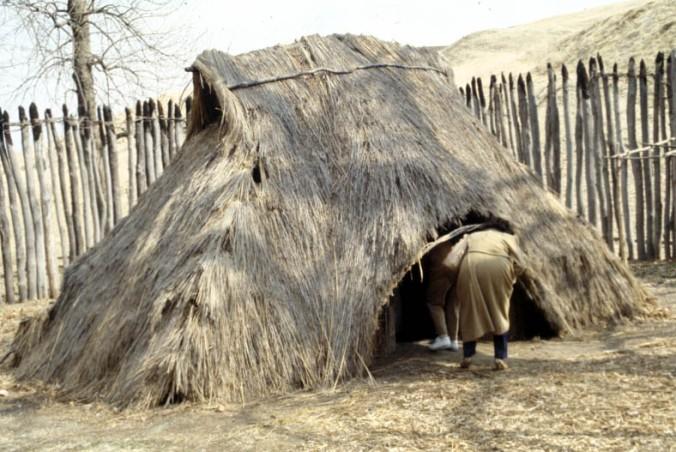 prazgodovinska koliba, slamnata koliba, naravno bivališče, naravna gradnja, gradnja z naravnimi materiali