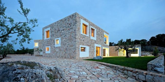 kamnita hiša, kamnita gradnja, gradnja iz kamna, naravna hiša, naravna gradnja, gradnja z naravnimi materiali, arhitekt