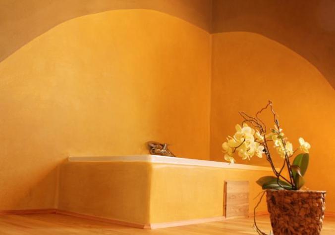 tadelakt, kopalnica, naravni interierji, arhitekt naravna gradnja, naravna gradnja, gradnja z naravnimi materiali