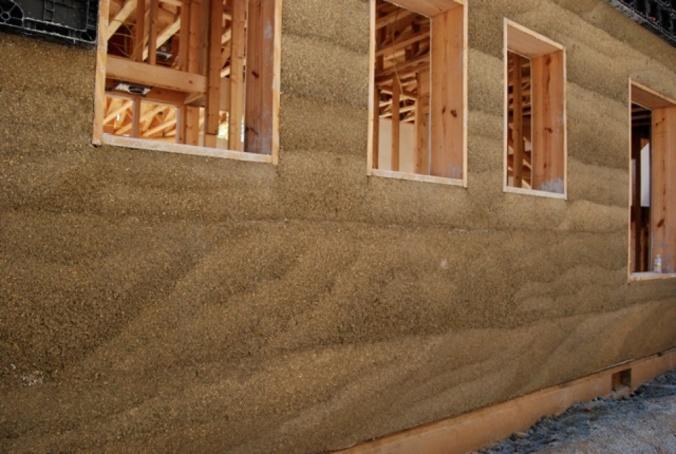 hiša iz konoplje, hiša iz konopljinega betona, naravna gradnja, hiša iz konoplje arhitekt, lesena hiša, gradnja z naravnimi materiali, naravna gradnja arhitekt